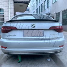 For VW Jetta Spoiler High Quality ABS Material Car Rear Wing Primer Color Volkswagen sports 2019