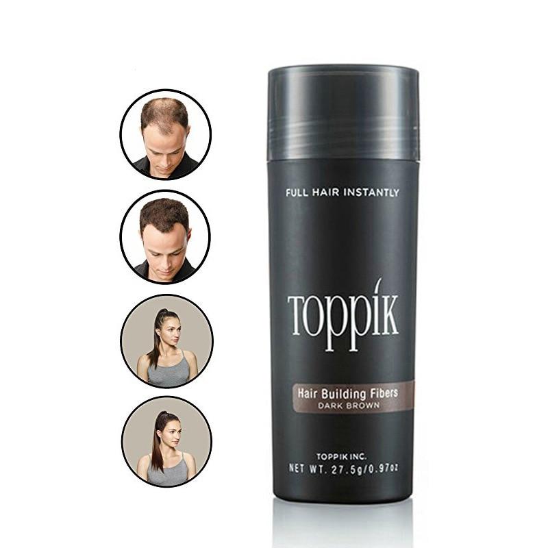 TOPPIK Hair Fibers Keratin Thickening Spray Hair Building Fibers 27.5g Loss Products Instant Wig Regrowth Powders