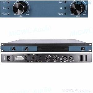 Image 2 - MiCWL – amplificateur de puissance numérique à 4 canaux, 5200W, karaoké, Studio, Microphone Audio, haut parleur de nouvelle génération, ampli 2600W, 2 canaux