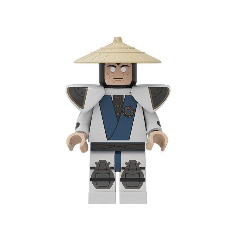 Blocos de construção Figuras Modelo Brinquedos Tijolos de Mortal Kombat Kitana Baraka Jax Raiden Kung Lao Liu Kang Escorpião Para As Crianças