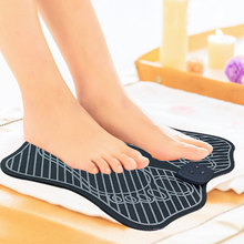 Electric Feet Muscle Stimulator EMS Foot Massage Mat Relieve Fatigue Massager Pedicure For Man And Woman Care Tool