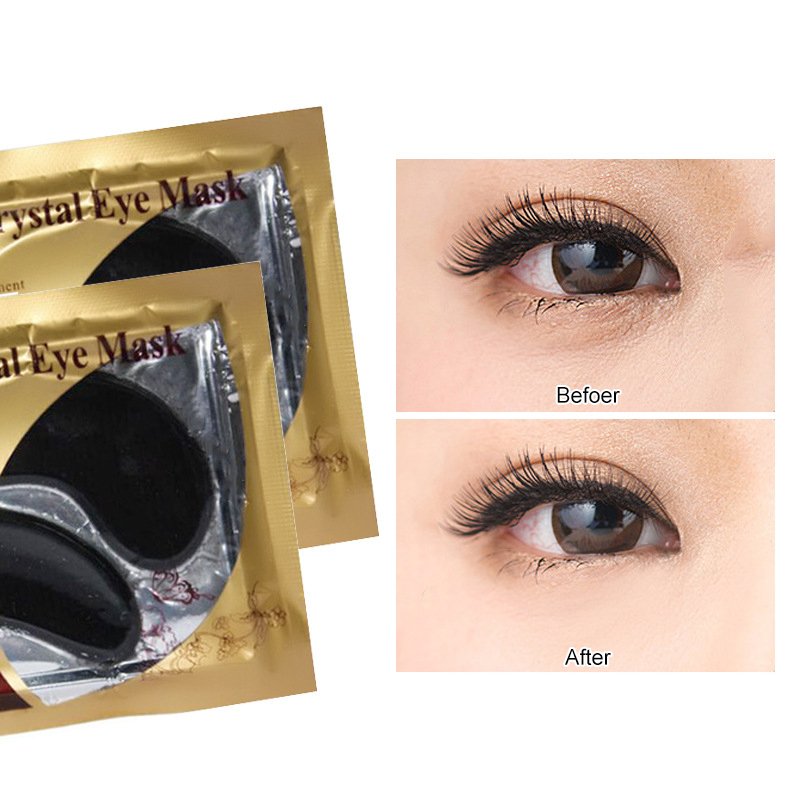 Collagen Eye Patches Whitening Anti-Puffiness Eye Patches Face Care Against Wrinkles Dark Circles Care eye mask women