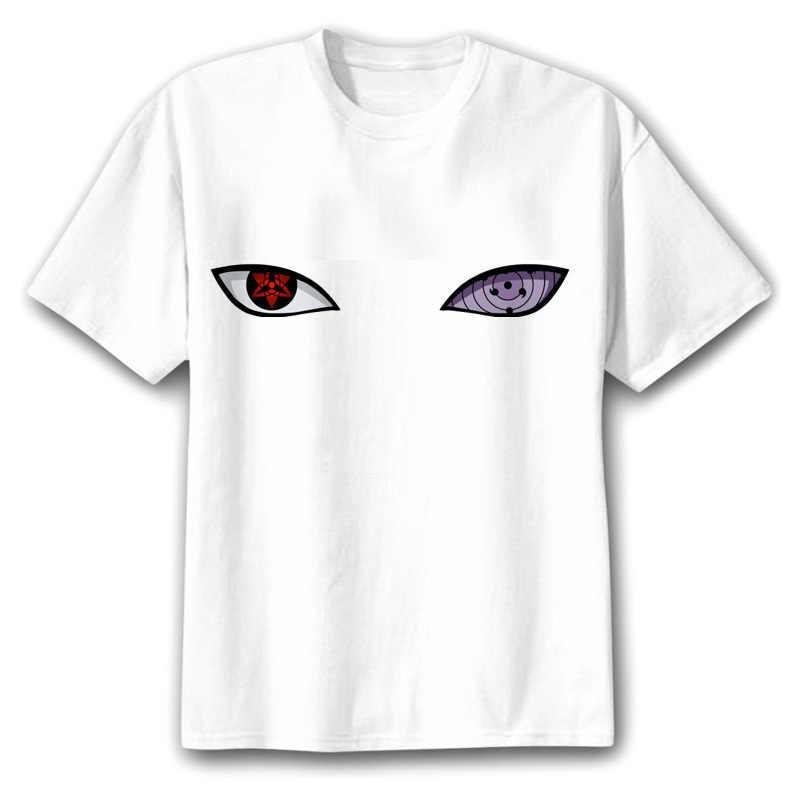 Naruto Boruto T Shirt mężczyźni/kobiety/dzieci Uchiha Itachi Uzumaki Sasuke Kakashi Gaara japonia Anime śmieszne koszulki Top tshirt koszulka 2019