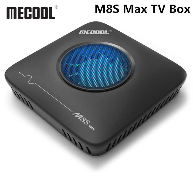 Mecool M8S Max TV Box Android 7.1 Amlogic S912 3GB RAM 32GB ROM 2.4G 5.8G Set top Box Wifi BT4.0 100Mbps 4K VP9 H.265 Octa Core