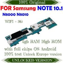 Logic Unlock Note-10.1 Mainbaord Samsung Galaxy Android Full-Chips for N8000/n8010