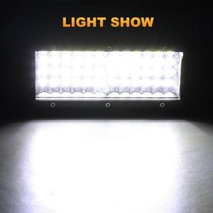 Image 5 - Nlpearl 72W 144W אור בר/עבודת אור זרקור LED אור בר למשאית נהיגה Offroad סירת רכב טרקטור 4x4 SUV טרקטורונים 12V 24V