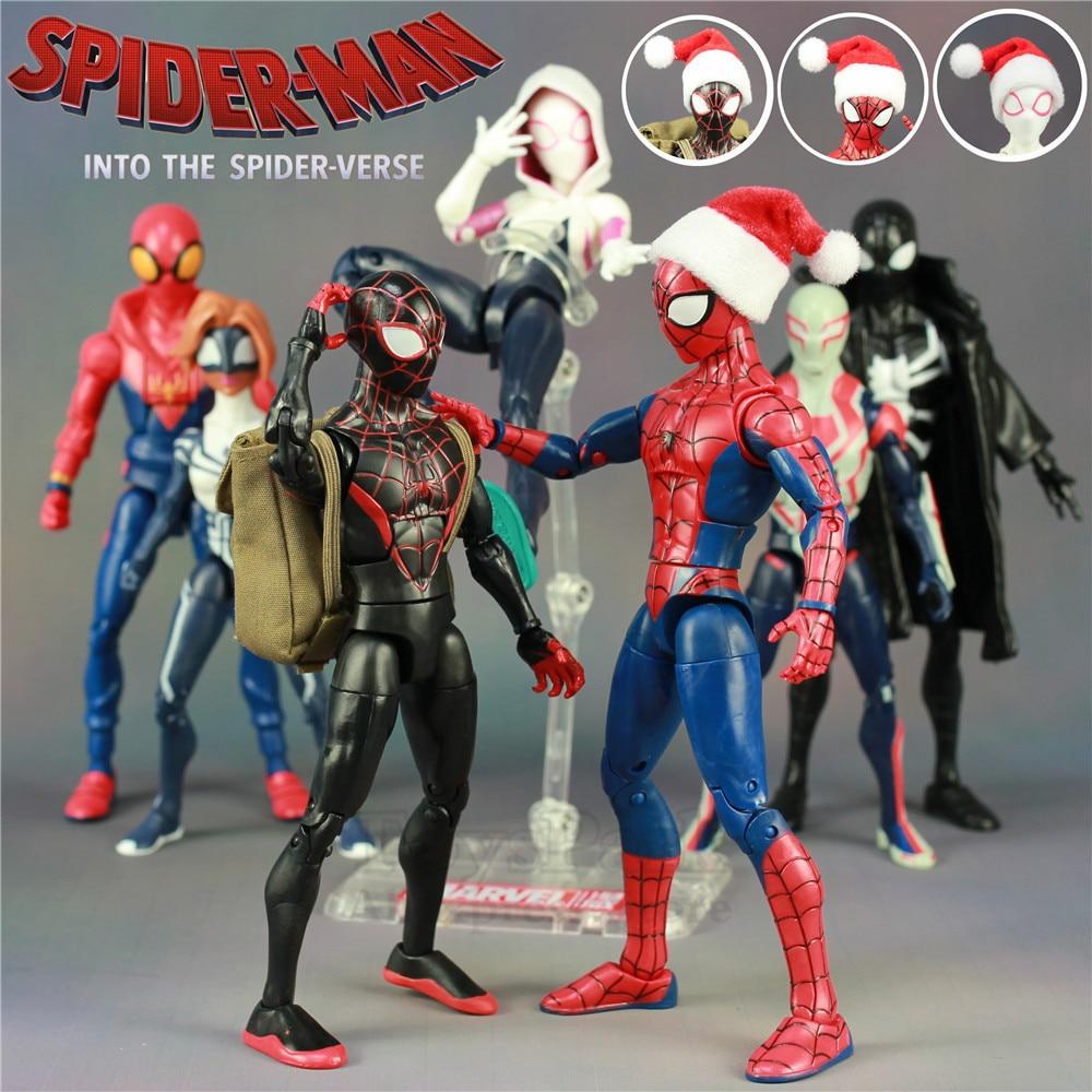 Marvel 2018 Spiderman Into The Spider Verse Cartoon Movie 6