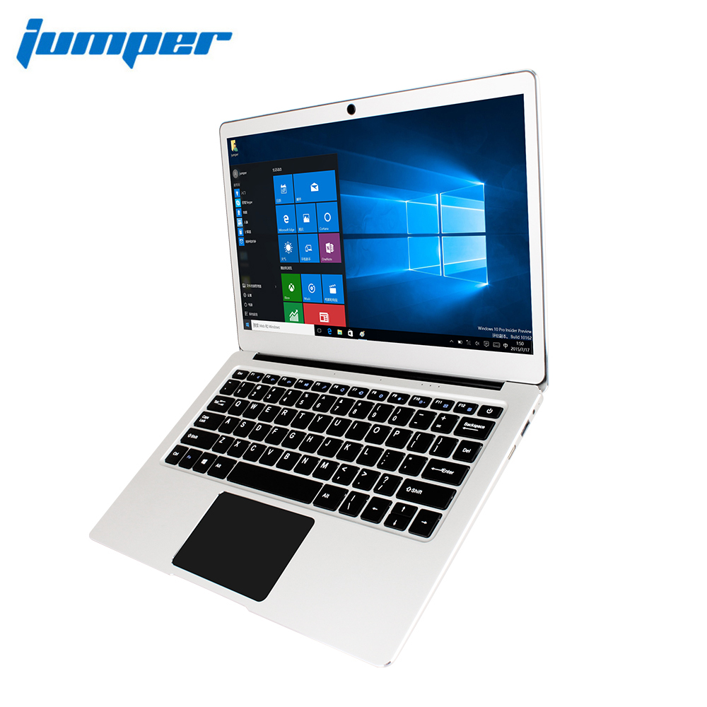 "RU Stock! Jumper EZbook 3 Pro laptop 13.3"" IPS Screen Apollo Lake J3455 6GB 64GB notebook 2.4G/5G WiFi with M.2 SATA SSD Slot 1"