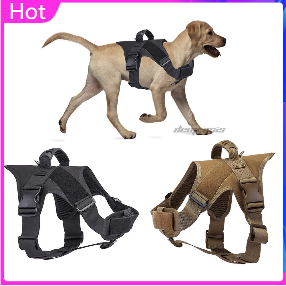 Hunting Military Dog Vest Tactical Paintball Equipment Shooting Airsoft Pet Vest Handle Army Cs Service Working Dog Harness