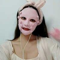 Elektrische trillingen Facial Spa massage Huidverjonging Anti-rimpel face lift masker V Gezicht Chin Cheek Lift Up Afslanken machine
