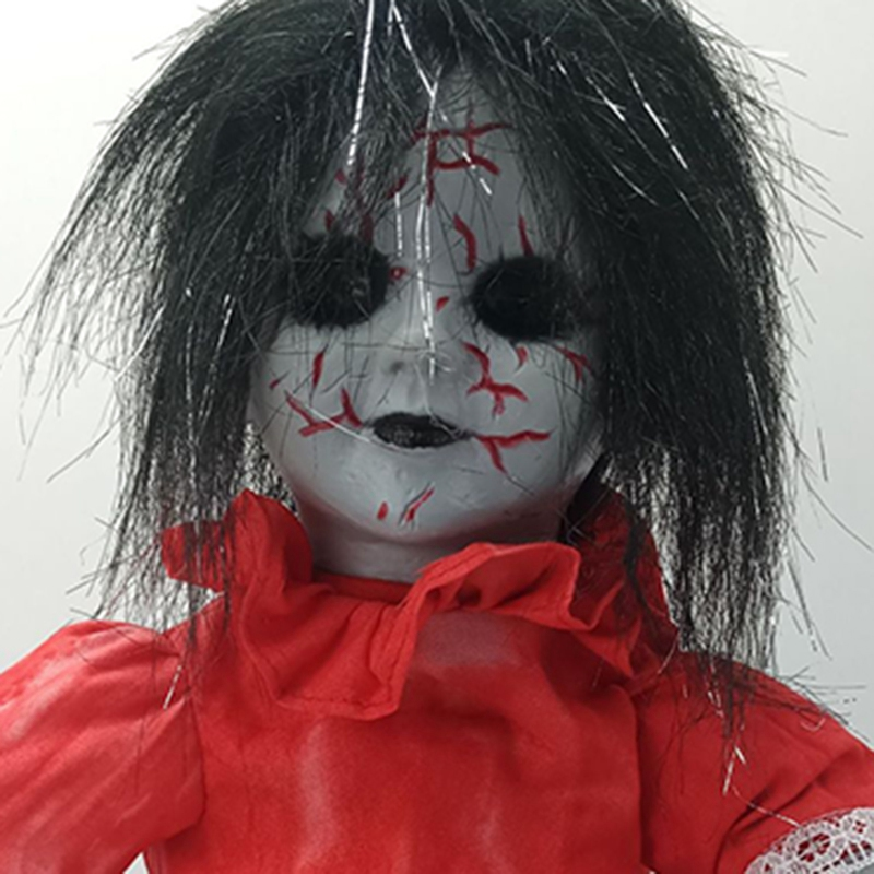 Freaky Doll Halloween Scary Ghost Festival Toys Plush Toys Electric Walking Dead Ghosts Halloween Explosions Horrible Ghost Doll