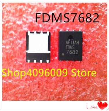 NEW 10PCS/LOT FDMS7682 7682 QFN-8