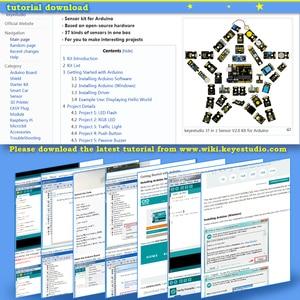 Image 5 - 2020 חדש! Keyestudio חדש חיישן Starter V2.0 ערכת 37 ב 1 תיבת עבור Arduino UNO Starter Kit