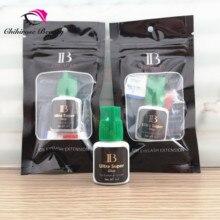 10 pièces Ibeauty séchage rapide ultra super colle pour extensions de cils maquillage artiste cils studio IB ultra super colle longue durée