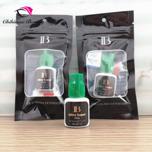 Image 1 - 10pcs Ibeauty Fast drying ultra super glue for eyelash extensions make up artist lash studio IB ultra super glue   long lasting