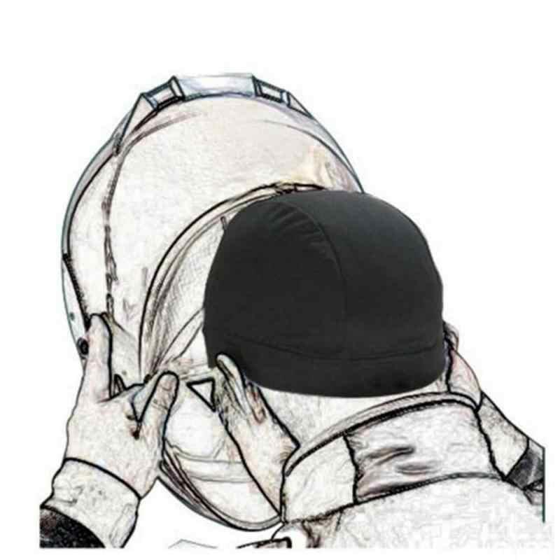 รถจักรยานยนต์หมวกกันน็อกหมวกMoisture Wicking Cooling Skull Capหมวกด้านในหมวกโดมหมวกQuickแห้งหมวกรถอุปกรณ์เสริม