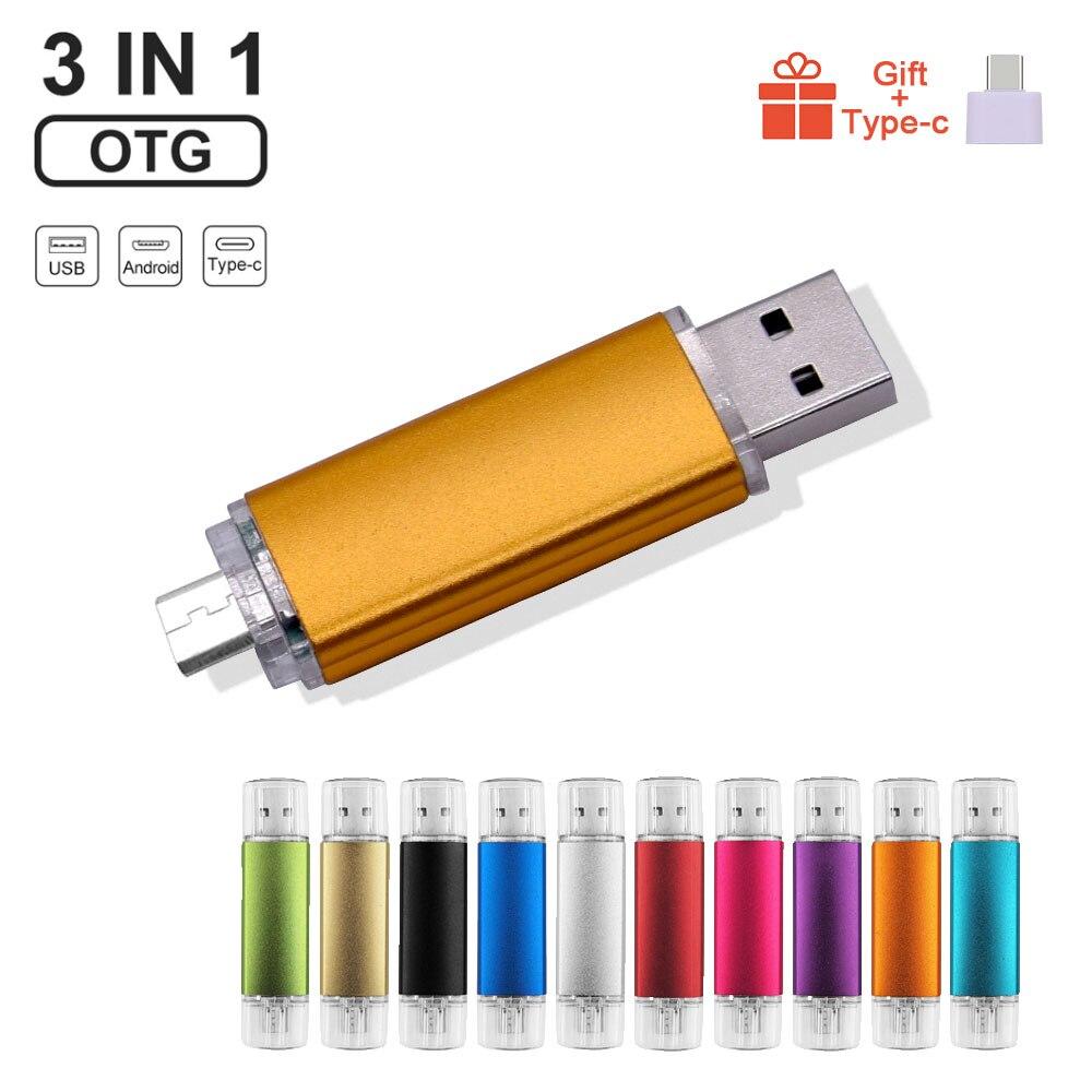 USB флеш-накопитель OTG с логотипом под заказ, красочный, Usb 2,0, флеш-накопитель для смартфонов Android/ПК, 8 ГБ, 16 ГБ, 32 ГБ, 64 ГБ, 128 Мб, флешка, подарки