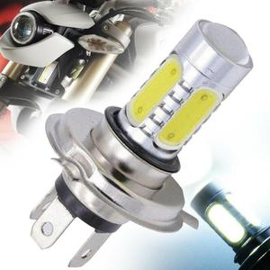 Universal 1PC H4 9003 30W High Power Motorcycle LED Headlight COB Durable Bulb White Hi/Lo Beam 6000K For Moto ATV Accessories(China)