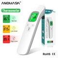 Цифровой термометр, инфракрасный термометр для лба, Бесконтактный измеритель температуры, гигрометр, ИК лазерные инструменты для измерени...