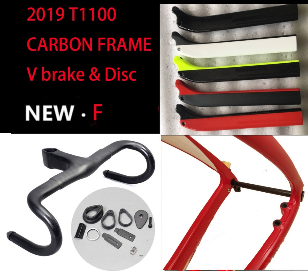 Famous T1100 Carbon Road Frame 3k 1K Road Bike Carbon Disc Thru Axle Road Frame Bicicleta Carbon Bicycle Frame Bici Velo