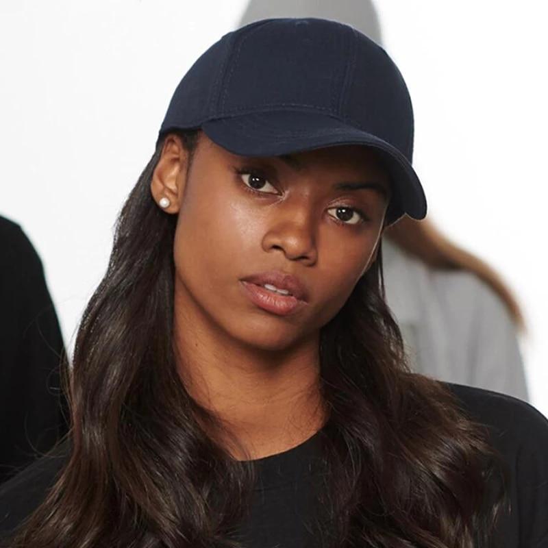 New Solid Color Women Baseball Cap Summer Adjustable Unisex Baseball Caps  Women Men Sun Hats Black White Hip hop Hat|Women's Baseball Caps| -  AliExpress