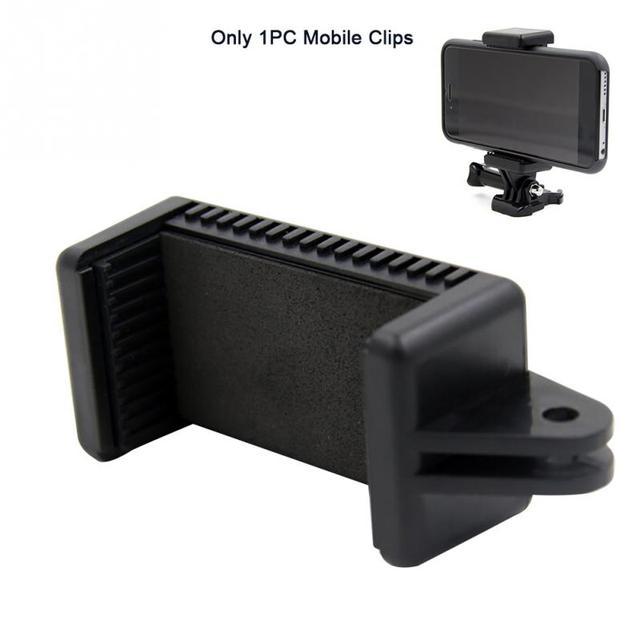 ใหม่สำหรับขาตั้งกล้อง Monopod CLAMP ยึดผู้ถือ Mount คลิปโทรศัพท์มือถืออะแดปเตอร์ Universal คลิปโทรศัพท์มือถือ