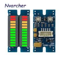 2*12 Segment LED müzik ses spektrum göstergesi Stereo çift kanal seviyesi göstergesi VU metre ses seviyesi göstergesi DC 5V