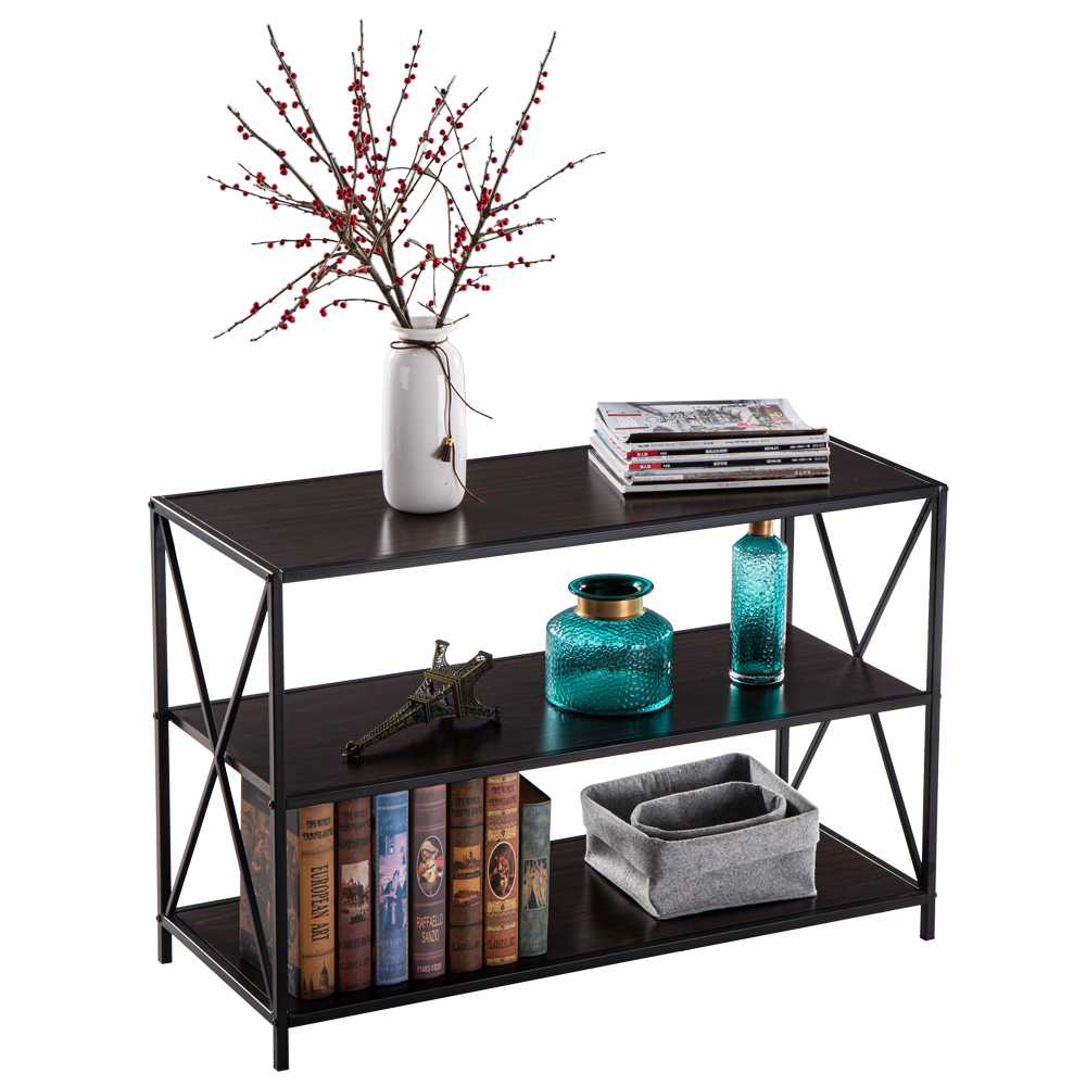 Console Table Black Fashion Coffee Table North European Marble Porch Cabinet Wall Simple Modern Living Room Sofa Back Storage