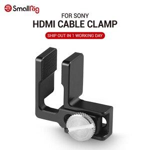 Image 1 - SmallRig HDMI Cavo Morsetto per Sony A6500 A6300 A6000 macchina fotografica SmallRig Gabbia 1661 / A7 A7S SmallRig Gabbia 1815 ect      1822