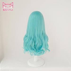 Image 4 - 【AniHut】Hikawa Sayo Wig Game BanG Dream! Cosplay Wig Blue Synthetic Women Hair Anime Bandori Cosplay Hikawa Sayo Costume