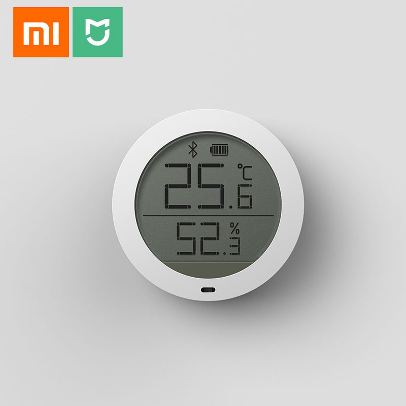SellOriginal Xiaomi Mijia Bluetooth Hygrothermograph High Sensitive LCD Screen Hygrometer Thermometer Sensor Use With Mijia App