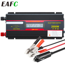 2000W Watt Dc 12V Naar Ac 220V Portable Auto Power Inverter Charger Converter Adapter Dc 12 Te 220 Gemodificeerde Sinus Met Usb