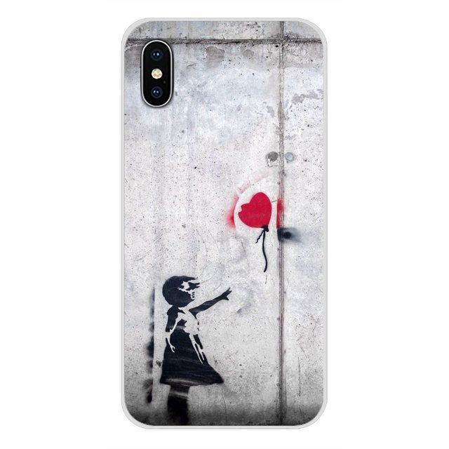 Accessoires coque de téléphone pour Samsung A10 A30 A40 A50 A60 A70 Galaxy S2 Note 2 3 Grand noyau Prime Banksy Graffiti panda