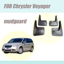 For Chrysler  Voyager mudguards fenders mud flaps splash guards car accessories auto styling 2013-2016