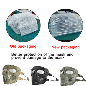 Image 5 - Multicam Tactical Airsoft Skull Mask Paintball Military Combat Full Face Paintball Masks CS Game Face Protective Tactical Mask