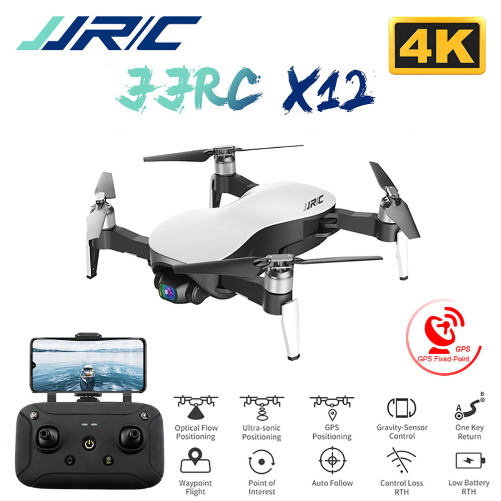 Brushless Motor with GPS 5.8G WiFi FPV Hubsan Zino Drone Foldable Quadcopter 4K UHD Video Camera 3-axis Yaw,Picth,Roll
