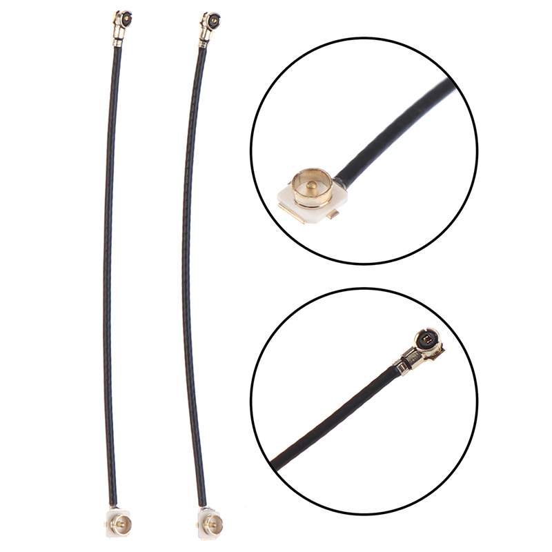 2Pcs IPEX-4 UFL Female To Ipex-1 Connector Cable Antenna For Intel Bcm94360hmb