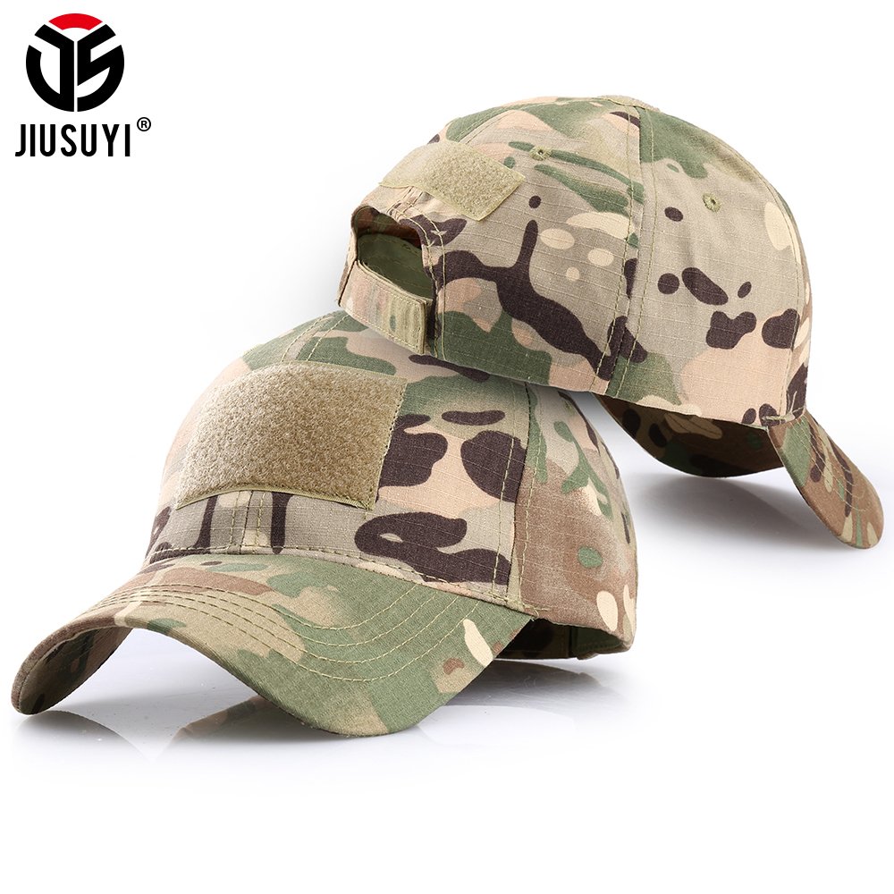 Men Tactical Operator Camo Baseball Hat Military Army Airsoft Cap Hat Accessory