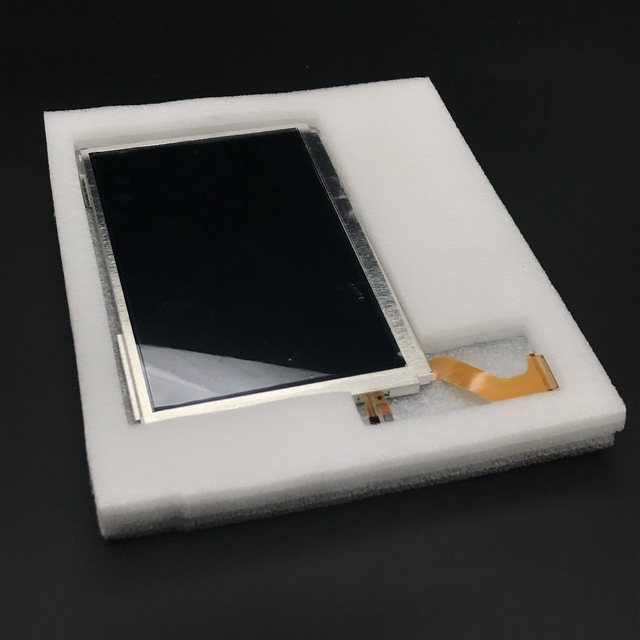 משך מקורי למעלה עליון LCD מסך תצוגה עבור 3DS LL/3DS XL
