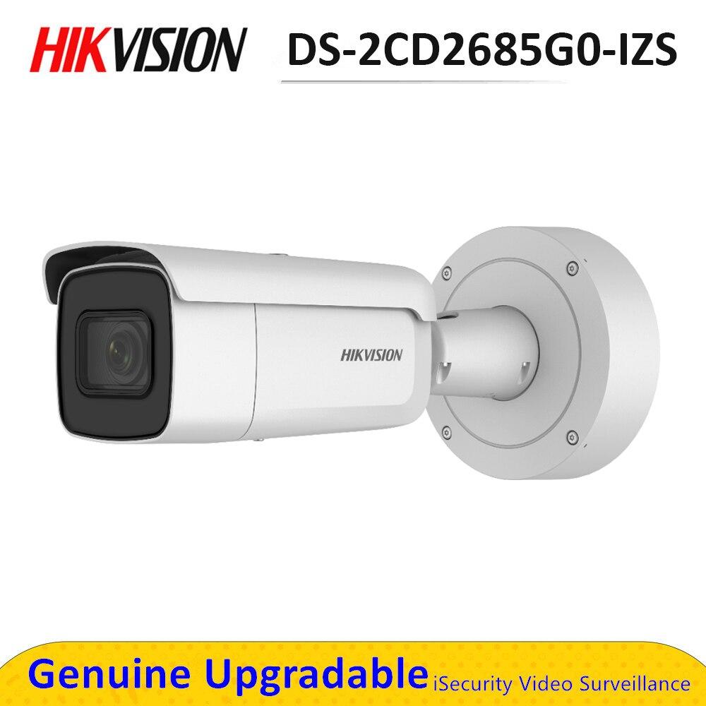 Caméra de surveillance ip POE 4K IK10, 8MP, darkfighter IR, pour l'extérieur, objectif motorisé, remplace le modèle DS-2CD2685G0-IZS, DS-2CD2685FWD-IZS