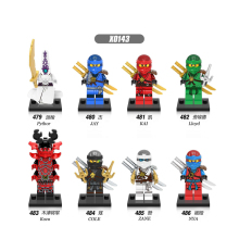 Single Sale Building Blocks Super Heroes Pythor Jay Lloyd Kozu Kai Cole Zane The Wei Snake Bricks Figure Toys For Children X0143 недорого
