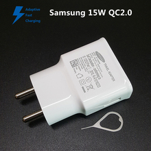 Samsung Original 15W Charger QC2.0 Adaptive Fast Charging For Galaxy Note4 Note5 S6 S7 edge On7 C5000 A9000 A5100 N9100 N9150