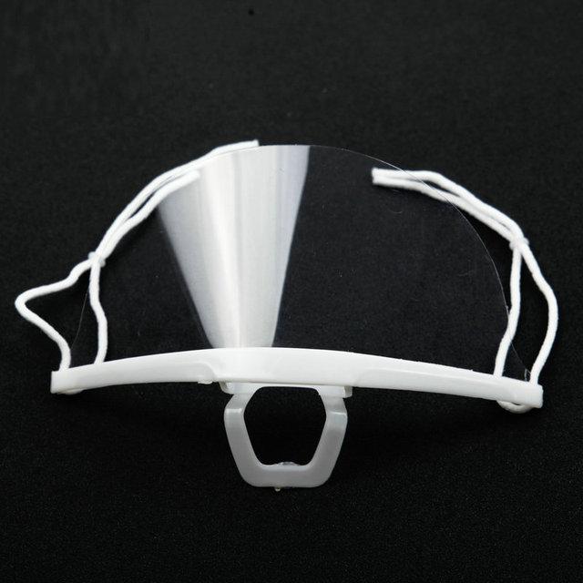 Máscaras de saúde alimentar anti nevoeiro transparente cozinha máscara para hotel plástico restaurante especial processamento chef oferta venda quente