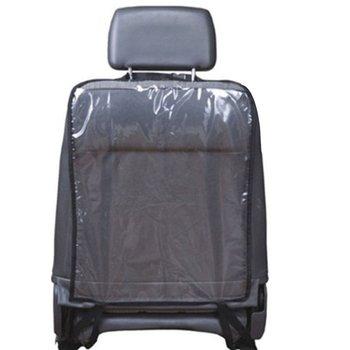 Oparcie fotela samochodowego obudowa ochronna organizer wieszany z tyłu siedzenia dla dzieci Kick Mat błoto czyste tylne siedzenie dziecko Kick Guard Seat Saver Hot tanie i dobre opinie Z tworzywa sztucznego Plastic Fabric 57cm x 42 cm Blue Black