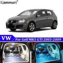 13 шт. без ошибок белая Автомобильная внутренняя Светодиодная лампа светильник посылка комплект обновления для 2003-2009 Volkswagen VW MK5 MKV Golf GTI светодиодный интерьер