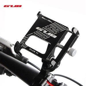 Image 1 - 2020 חדש GUB בתוספת 11 אלומיניום אופניים טלפון Stand עבור 3.5 7 אינץ רב זווית Rotatable אופני טלפון מחזיק אופנוע כידון