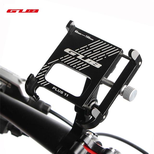 2020 חדש GUB בתוספת 11 אלומיניום אופניים טלפון Stand עבור 3.5 7 אינץ רב זווית Rotatable אופני טלפון מחזיק אופנוע כידון