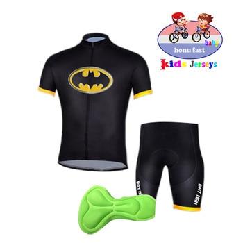 2020 crianças conjunto camisa de ciclismo meninos manga curta verão ciclismo roupas mtb ropa ciclismo criança bicicleta wear esportes terno 1