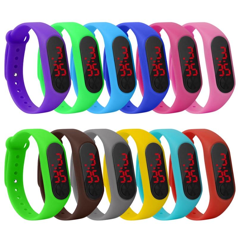 Smart Band gift Electronic Bracelet Watch Waterproof Sports kid Children's Wristband Student Couple Smartband Watch Bands