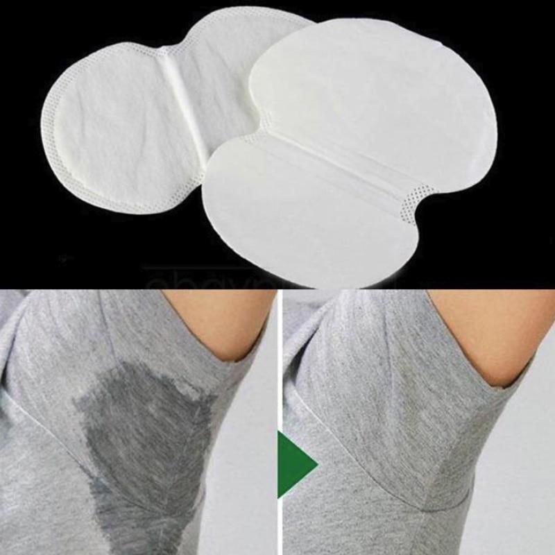 10/30/50PCS Armpits Sweat Pads Underarm Clothing Care Sweat Scent Perspiration Pad Shield Absorbing Deodorant Antiperspirant